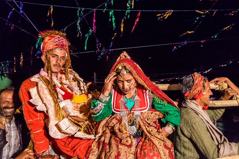 Himachal Wedding Couple