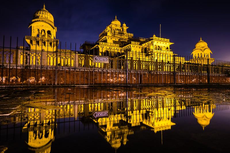 Albert Hall At Night