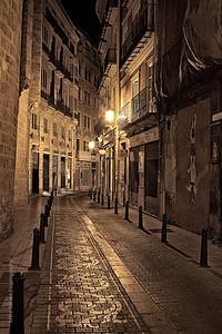 City Street Madrid, Spain