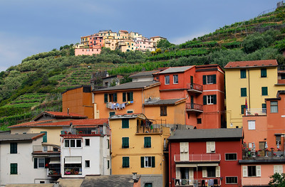 Villages of Groppo and Volastra in Cinque Terre (Italy)
