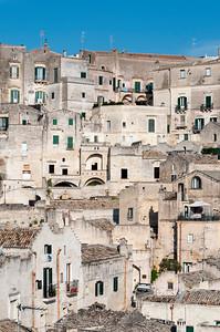Cave Houses of Sasso Caveoso, Sassi di Matera, Basilicata, Italy