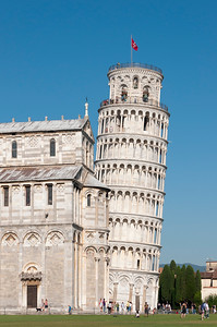 Leaning Tower of Pisa (Torre pendente), Piazza dei Miracoli (Piazza del Duomo), Toscana (Tuscany), Italy