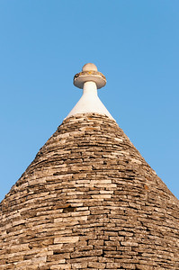 Close-up of Conical Trullo Roof, Alberobello Trulli District, Puglia, Italy