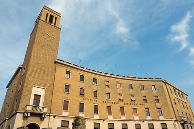 INA Building, Sant'Oronzo Square, Lecce, Italy