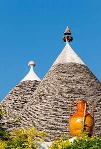 Conical Trulli Roofs, Alberobello