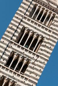 Campanile, Duomo di Siena, Italy