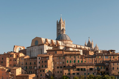 Old Town of Siena with Duomo, Italy