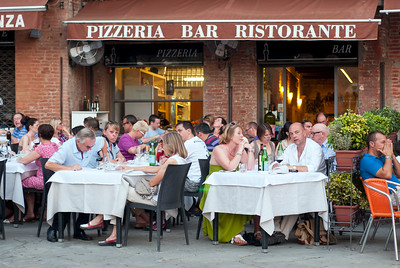 Restaurant at Piazza del Campo, Siena