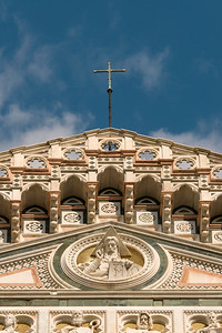 Facade Detail, Florence Cathedral, Italy