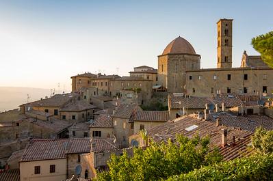 Hill-town of Volterra, Tuscany, Italy
