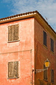 Close-up of Old House, Caorle, Italy