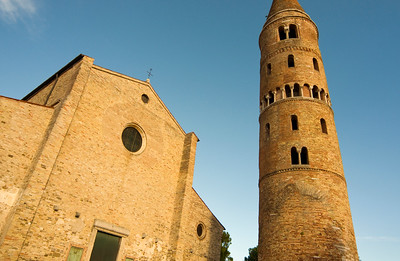 Romanesque Cathedral of St. Stephen, Caorle, Italy
