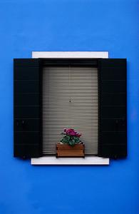 Window, Burano Island, Venice (Italy)