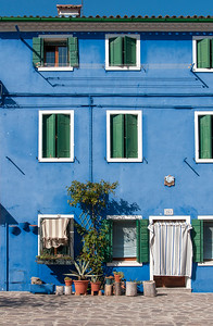 Blue House, Burano, Italy