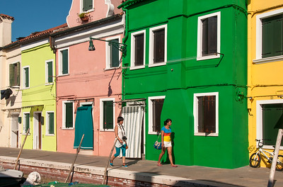 Brightly Painted Houses, Burano, Italy