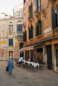 Street Scene, San Polo District, Venice, Italy