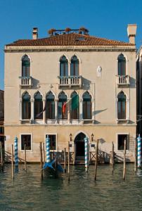 Hotel Palazzo Foscari a S. Sofia, 14th century Palace on Grand Canal, Cannaregio, Venice, Veneto, Italy