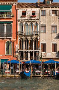 Gothic Palazzo Dandolo, Grand Canal, Venice, Veneto, Italy