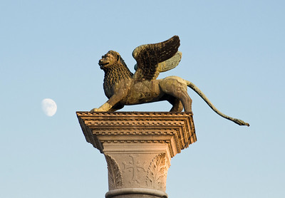 Column with Winged Lion, Venice