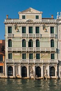 Palace in Sestiere Cannaregio, Grand Canal, Venice, Veneto, Italy