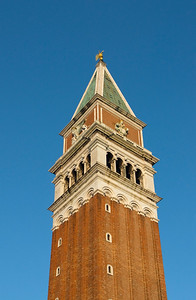 Bell-tower (Campanile), St. Mark's Square, Venice, Italy