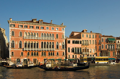 Gothic Palazzo Bembo, 15th century Palace in San Marco district near Rialto Bridge, Grand Canal, Venice, Veneto, Italy