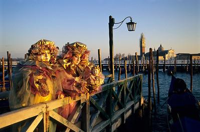 Carnival Masks, Venice
