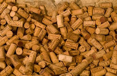 Assorted Wine Corks, Chianti, Italy