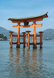 Torii (Gate) of Itsukushima Shrine, Miyajima, Japan