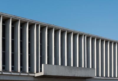 Building of Hiroshima Peace Memorial Museum, Japan