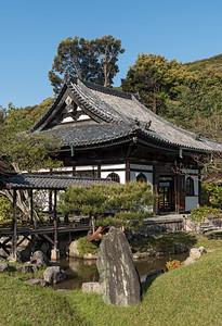 Kaizando Hall, Kodaiji (Kodai-ji) Zen Buddhist Temple, Kyoto, Japan