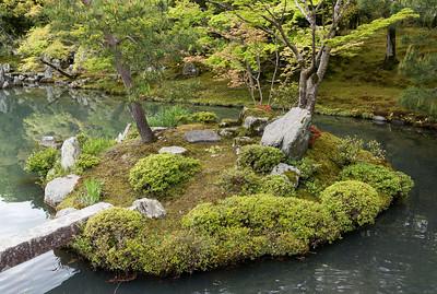 Zen garden, Tenryu-ji, Kyoto