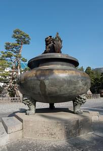 Incense Burner, Zenkoji, Nagano