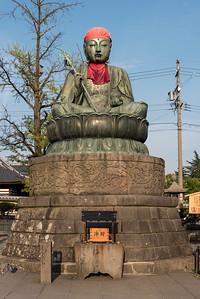 Nurebotoke Statue, Zenko-ji, Nagano