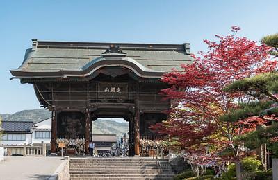 Niomon Gate, Zenko-ji, Nagano