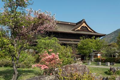 Zenkoji Temple Gardens, Nagano, Japan