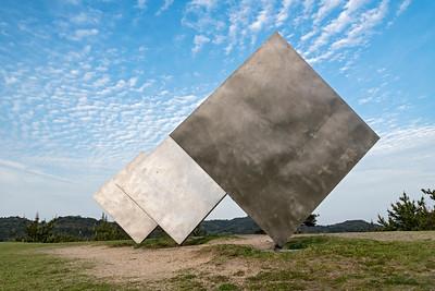 Three squares, Naoshima
