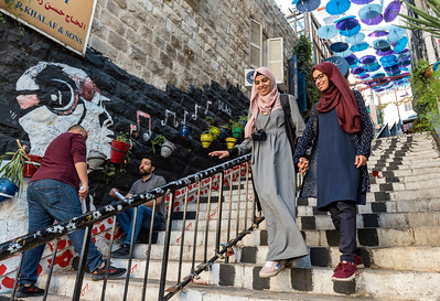 Umbrella Stairs, Amman