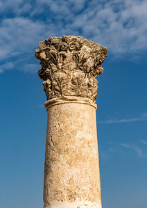 Column at  Amman Citadel