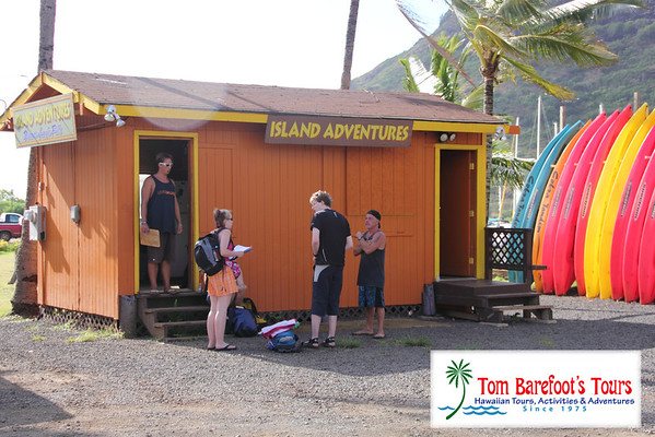 Island Adventures, Kayak Menehune Fishponds