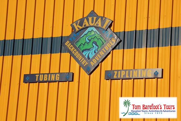 Kauai Backcountry Adventures, Tubing the Ditch (Printable)