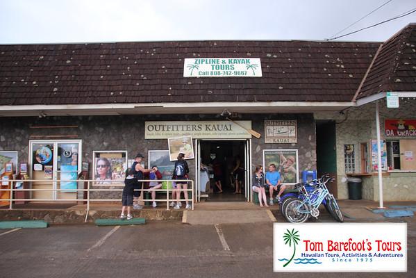 Outfitters Kauai, Zipline Trek