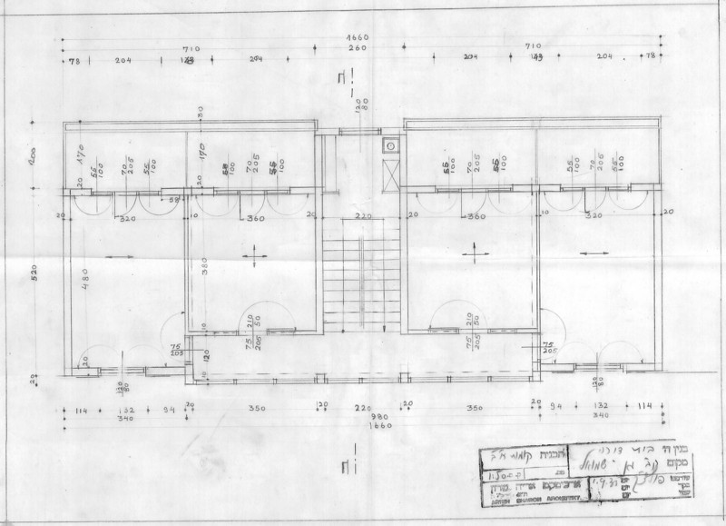 Floor Plan for a Two-Storey House