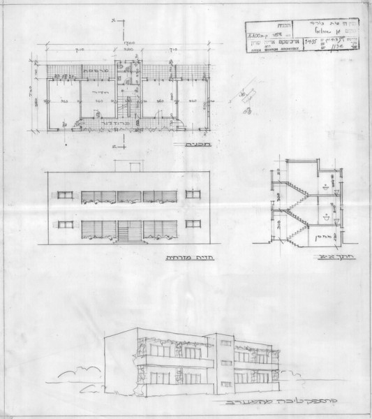 Plan, Elevation, Section and Perspective