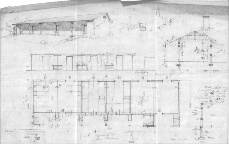 Floor Plan, Perspective and Section