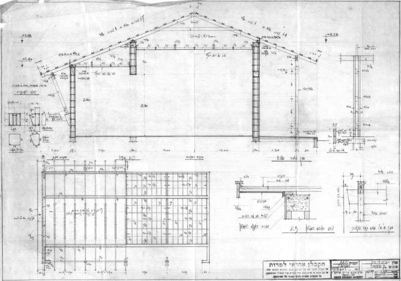 Roof - Plan and Sections