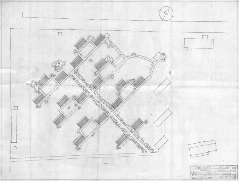 Residential Houses Preliminary Layout
