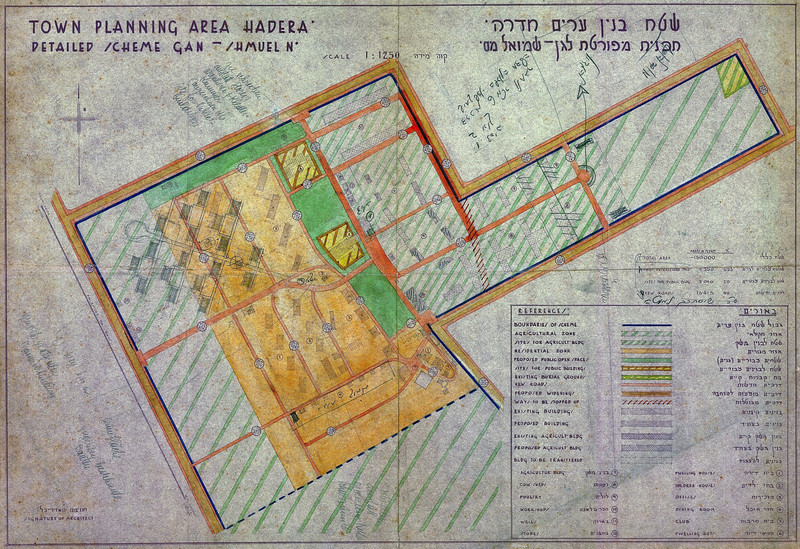 Detailed Scheme for the Kibbutz