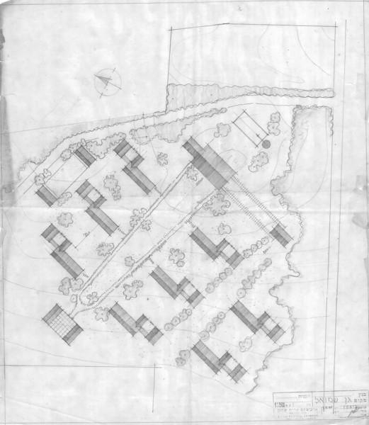 General plan for Education Center - Alternative