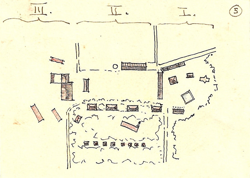 Sketch of the Kibbutz Central Area